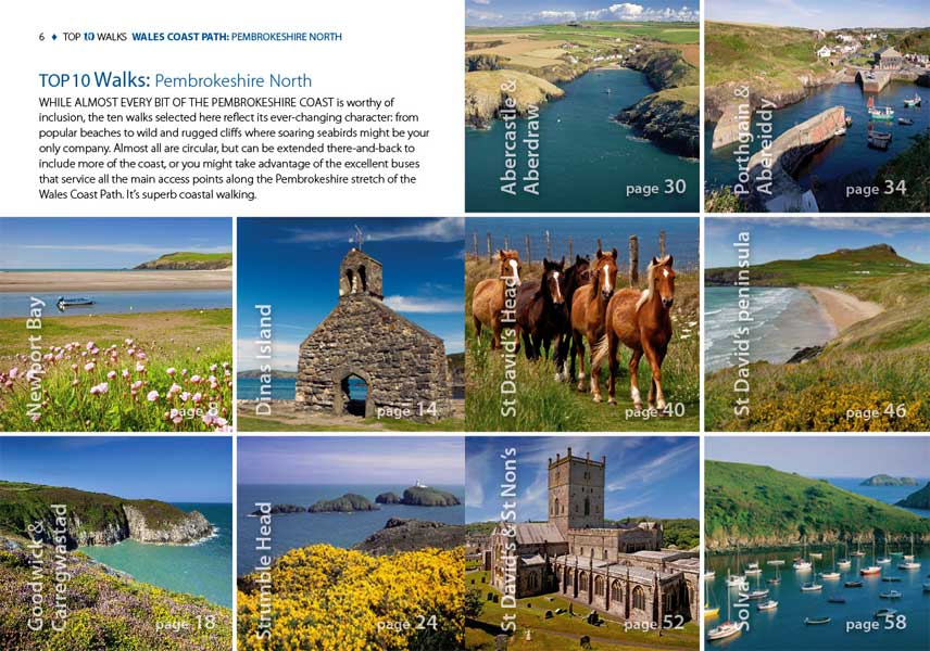 Top 10 Walks: Wales Coast Path: Pembrokeshire North