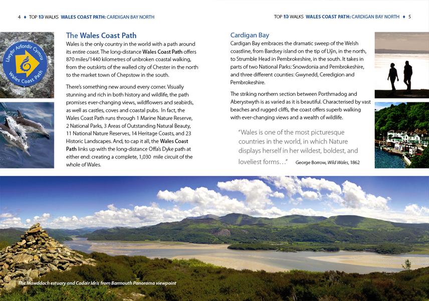 Top 10 Walks: Wales Coast Path: Cardigan Bay North