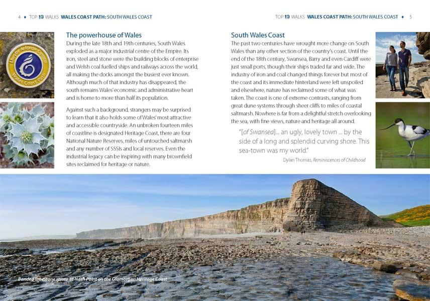 Top 10 Walks: Wales Coast Path: South Wales Coast