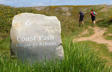 Wales Coast Path: Porth Einion, South Wales Coast