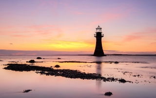 Whiteford lighthouse, Carmarthenshire