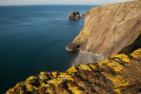 Dramatic sea cliffs on Yr Eifl, Llyn Peninsula